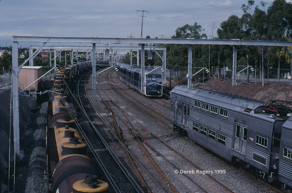 'Sparks' and freight at Homebush