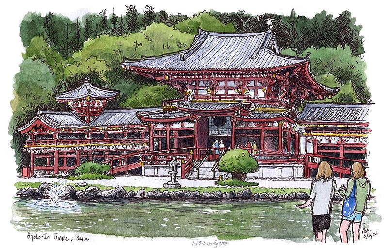 Byodo-In Temple 080821 sm