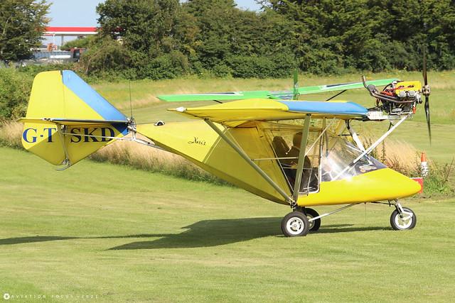 G-TSKD  -  X'Air Jabiru c/n BMAA/HB/165  -  EGHP 14/8/21