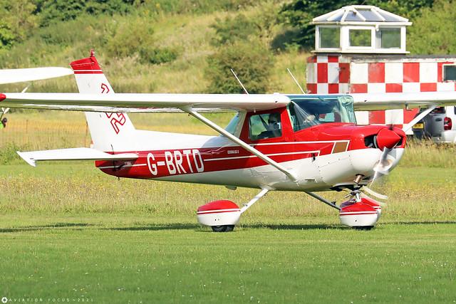 G-BRTD  -  Cessna 152 c/n 152-80023  -  EGHP 14/8/21