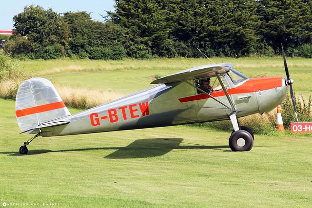 G-BTEW  -  Cessna 120 c/n 120-10238  -  EGHP 14/8/21