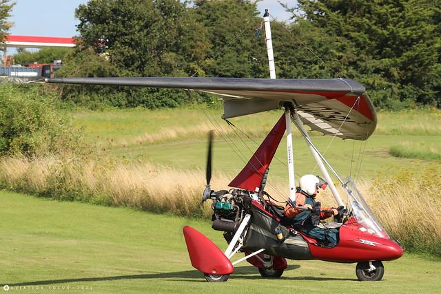 G-CCSL  -  P&M Aviation Quik c/n 8029  -  EGHP 14/8/21