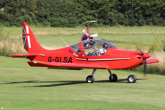 G-GLSA  -  EV-97 Eurostar SL c/n 2014-4216  -  EGHP 14/8/21
