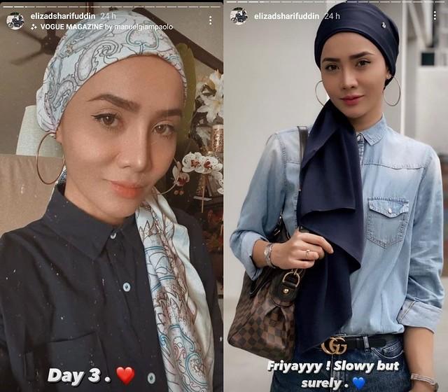 """Ada Je Tak Kena.."" Siti Elizad Mula Bertudung, Akui Tidak Sempurna"