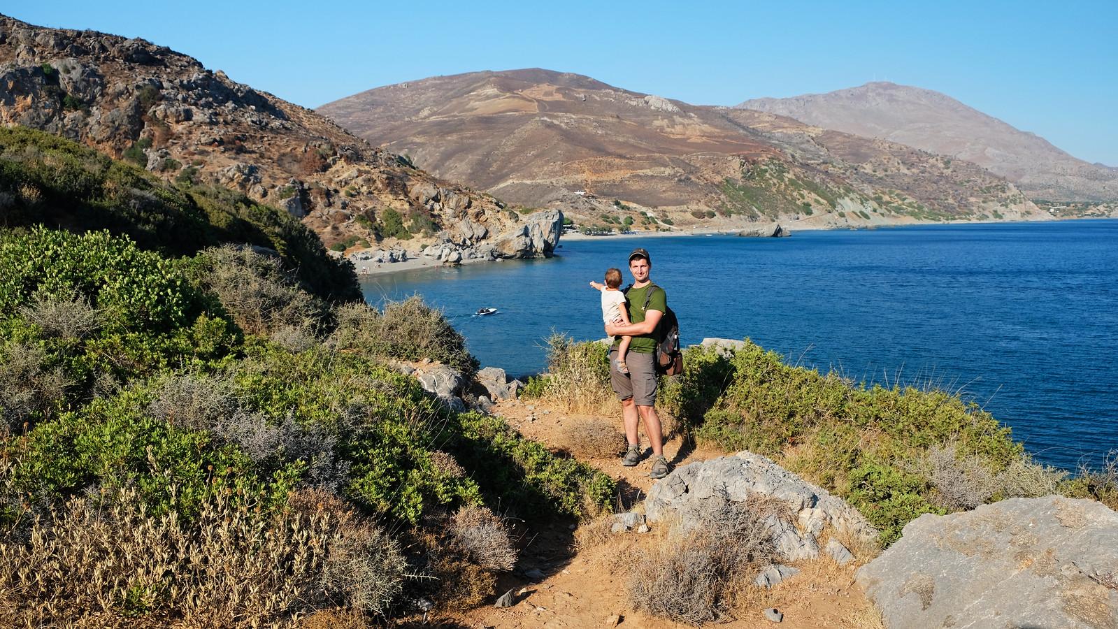Preveli Beach Trail, Crete, Greece