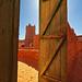 Door towards desert