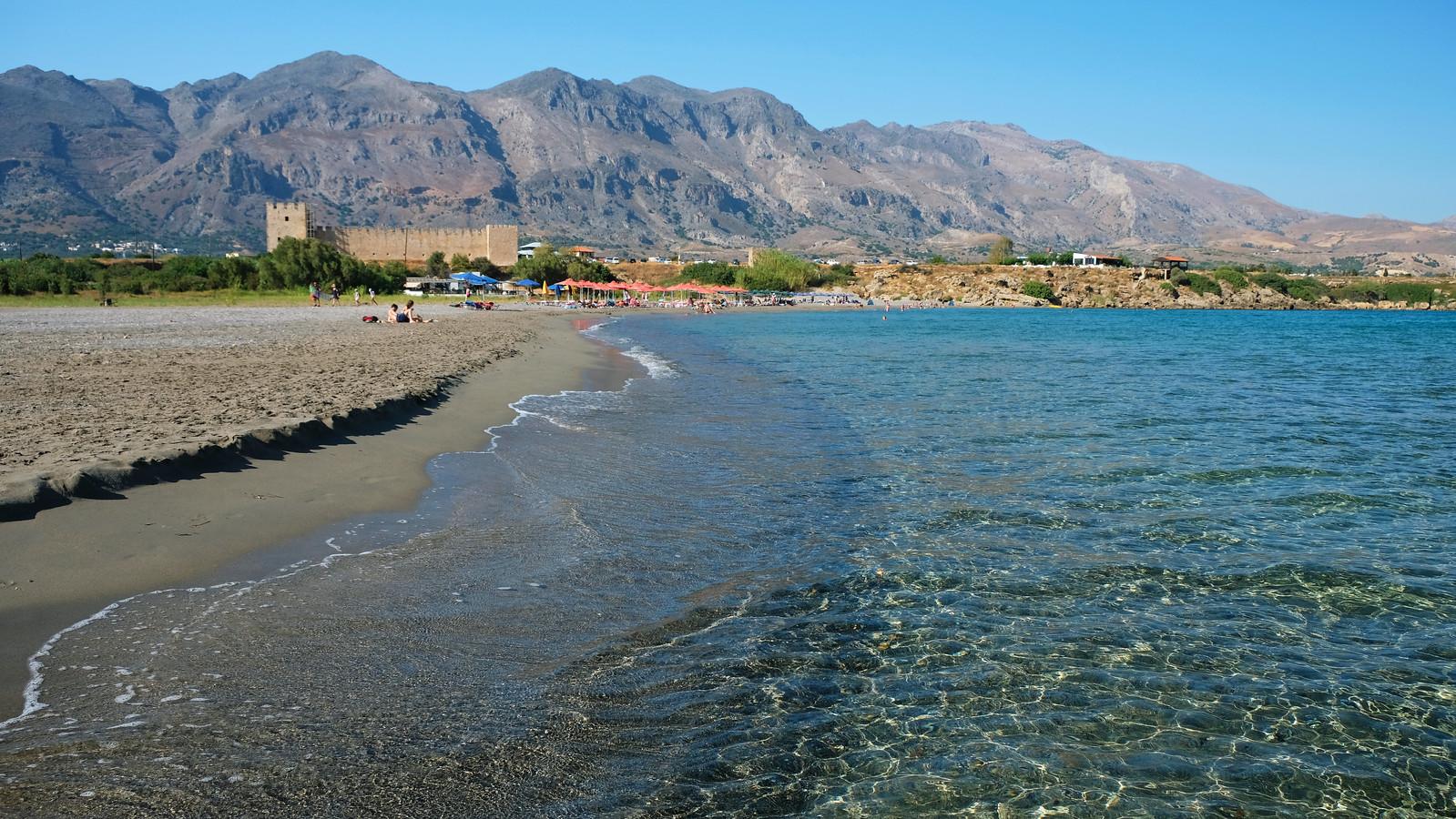 Frangokastello Beach, Crete, Greece