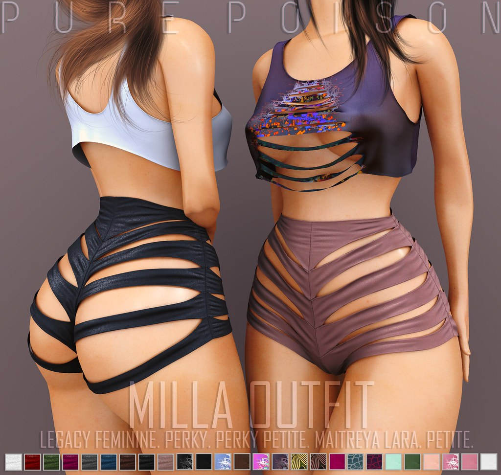 Pure Poison – Mila Outfit – Kustom9