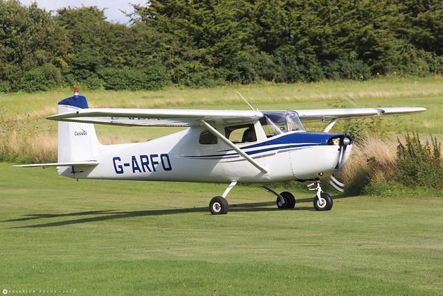 G-ARFO  -  Cessna 150A c/n 150-59174  -  EGHP 14/8/21