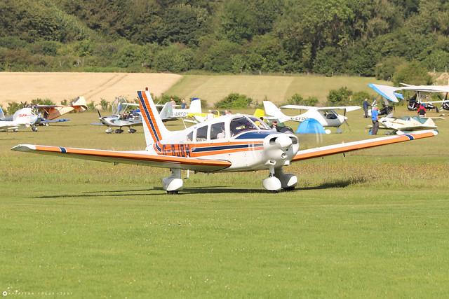 G-BJBW  -  Piper PA-28 161 Warrior II c/n 28-8116280  -  EGHP 14/8/21