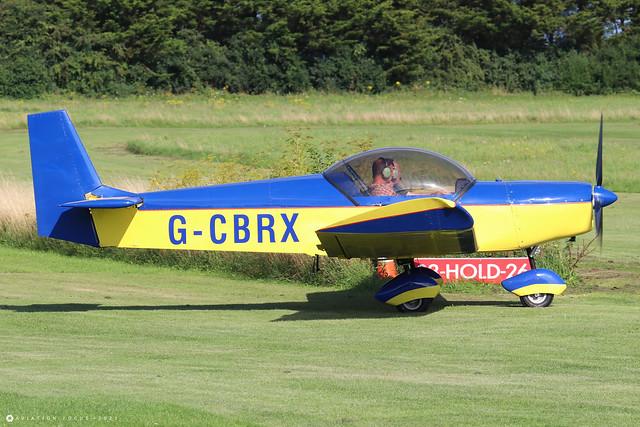 G-CBRX  -  Zenair Zodiac CH 601 UL c/n PFA 162A-13833  -  EGHP 14/8/21