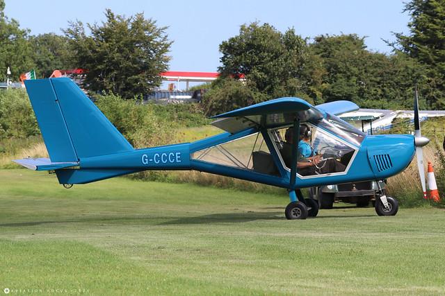 G-CCCE  -  Aeroprakt A-22 Foxbat c/n PFA 317-14002  -  EGHP 14/8/21