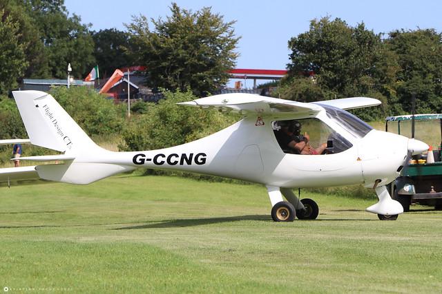 G-CCNG Flight Design CT 2K c/n 03-06-02-27  -  EGHP 14/8/21