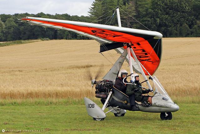G-CDAX  -  Mainair Pegasus Quik 912 c/n 8063  -  EGHP 14/8/21