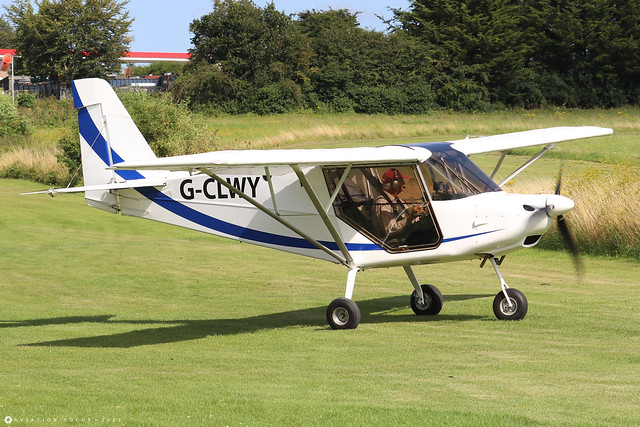 G-CLWY  -  Best Off SkyRanger Swift c/n 1144-7  -  EGHP 14/8/21