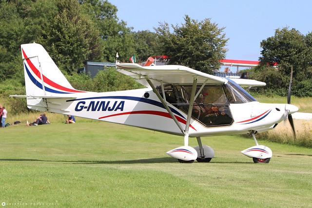 G-NNJA  -  Best Off SkyRanger Nynja c/n 315-8  -  EGHP 14/8/21