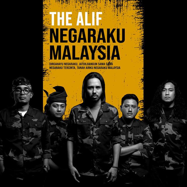 The Alif Semai Semangat Patriotik Cintakan Negara Dalam Lagu  Negaraku Malaysia