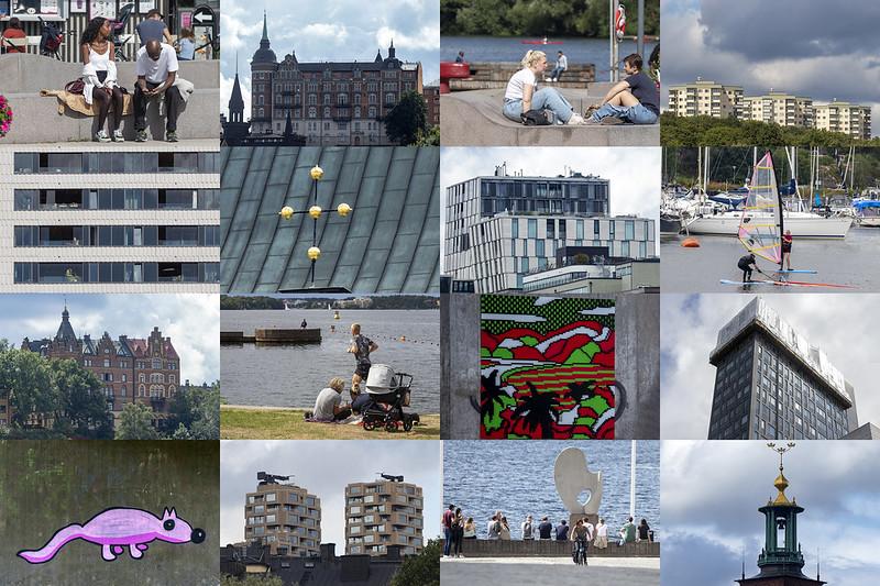 Sixteen Stockholm Snaps