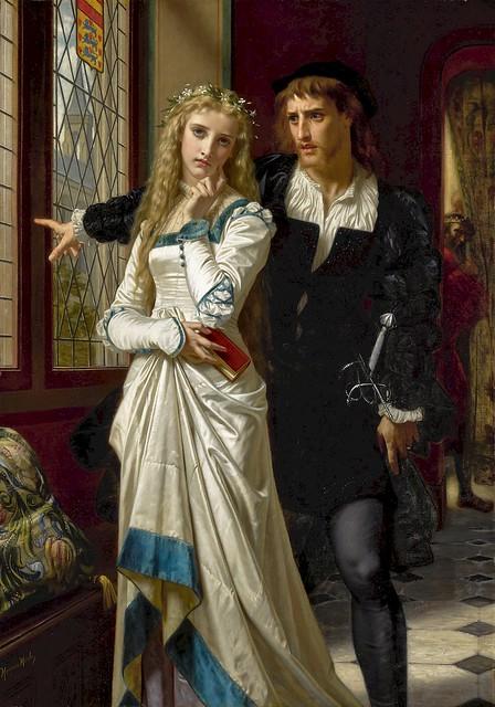 merle, hugues - Hamlet and Ophelia