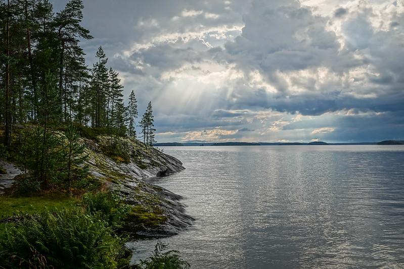Murikanranta evening shore view