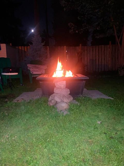 Saturday night fire
