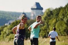 Královské lesní zážitky jménem Běhej lesy Karlštejn si odnáší celkem 2578 běžců