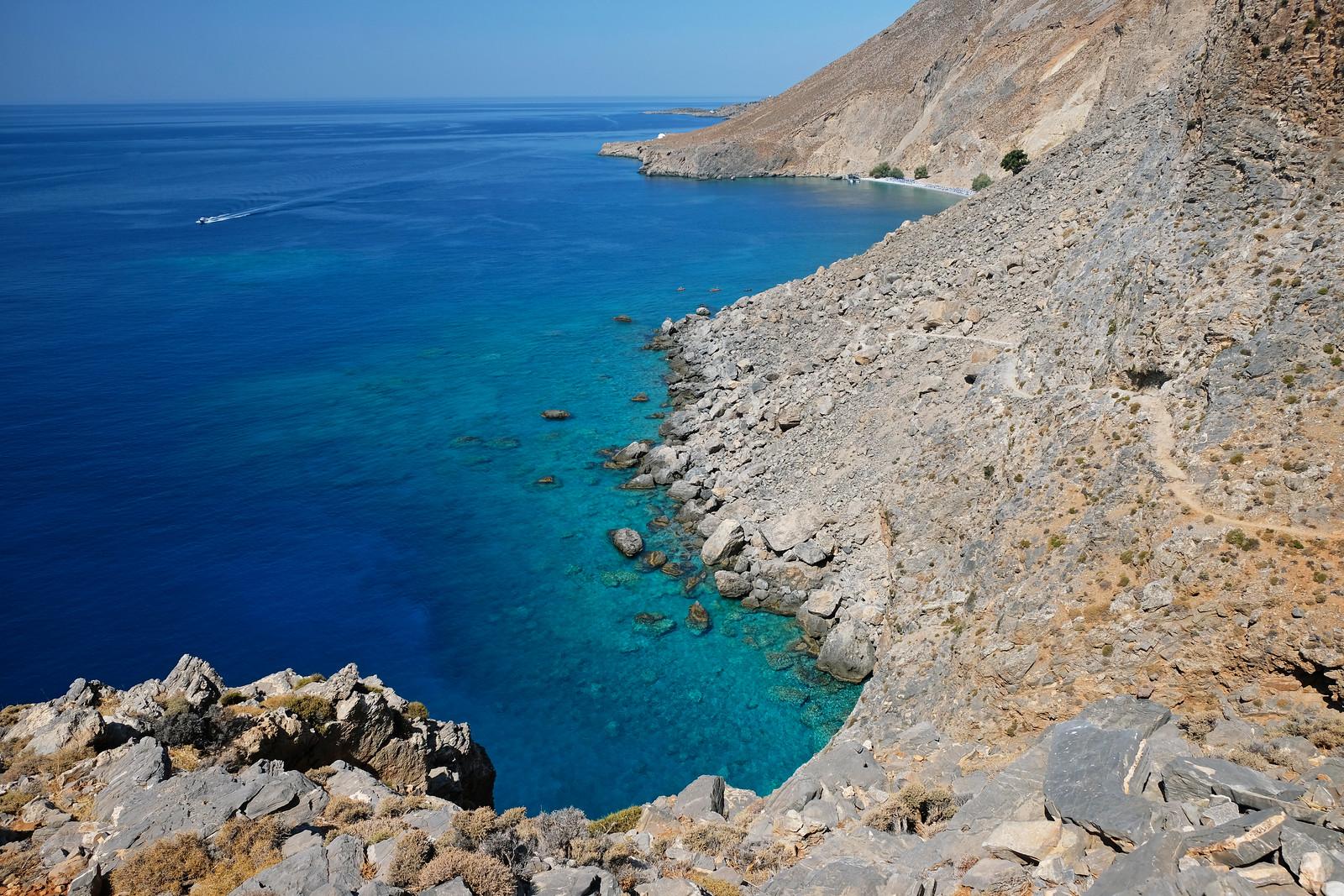 Glyka Nera Beach Trail, Crete, Greece