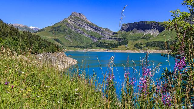 Barrage et site de Roselend- (On Explore 15/08 * Savoie 07/2021)