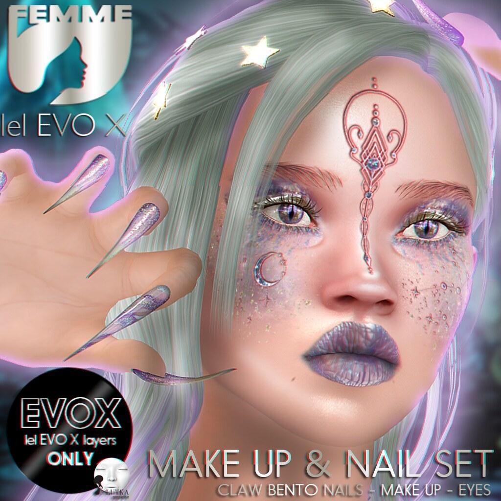 EvoX Queen Galaxia Make Up AD