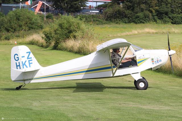 G-ZHKF  -  Escapade 912(1) c/n BMAA/HB/415  -  EGHP 14/8/21
