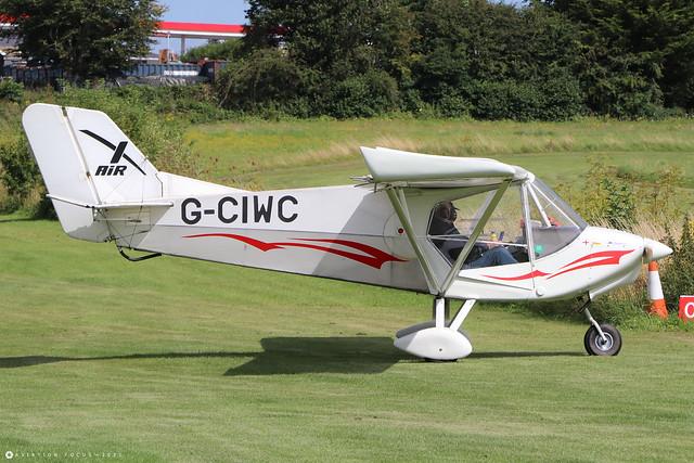 G-CIWC  -  Raj Hamsa X-Air H Hawk c/n LAA 340-15349  -  EGHP 14/8/21