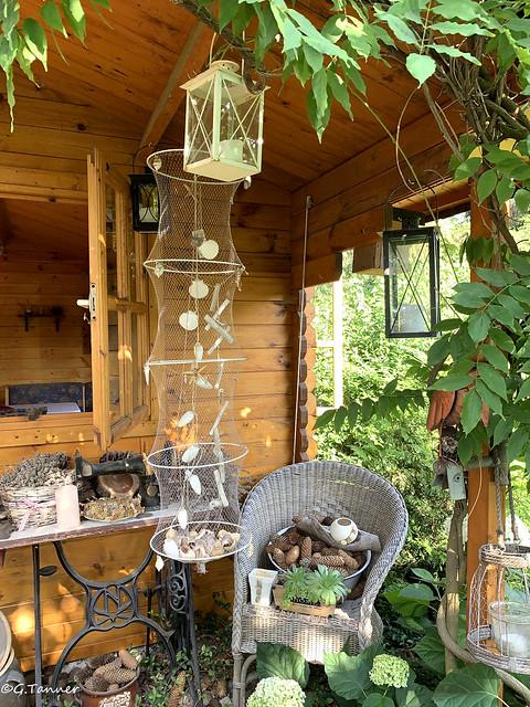 gZu Besuch im Vintage-Garten