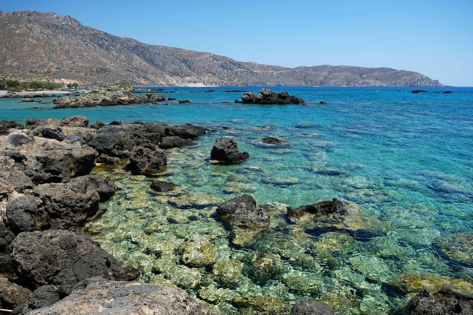 E4 Trail to Kedrodasos Beach, Crete, Greece