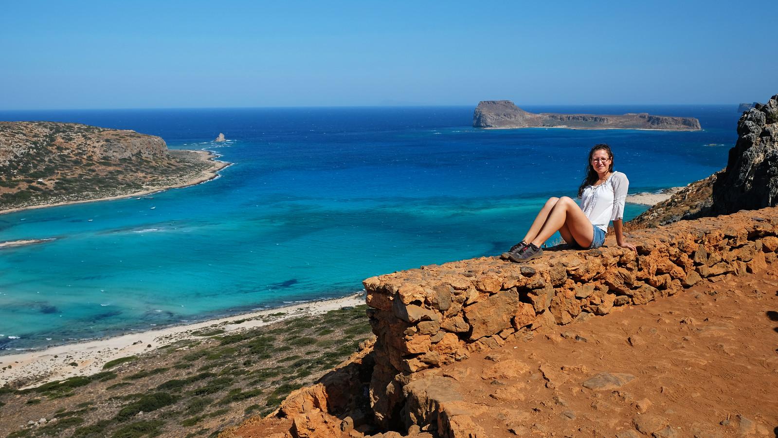 Balos Beach Trail, Crete, Greece
