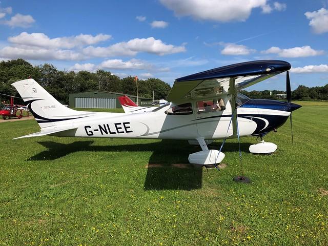 G-NLEE  -  Cessna 182Q Skylane c/n 182-65934  -  EGHP 14/8/21