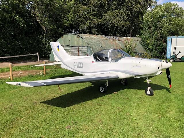 G-VIXX  -  Alpi Pioneer 300 c/n PFA 330-14465  -  EGHP 14/8/21