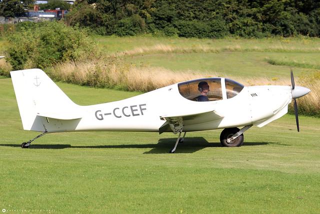 G-CCEF  -  Europa Aviation Europa c/n PFA 247-13038  -  EGHP 14/8/21