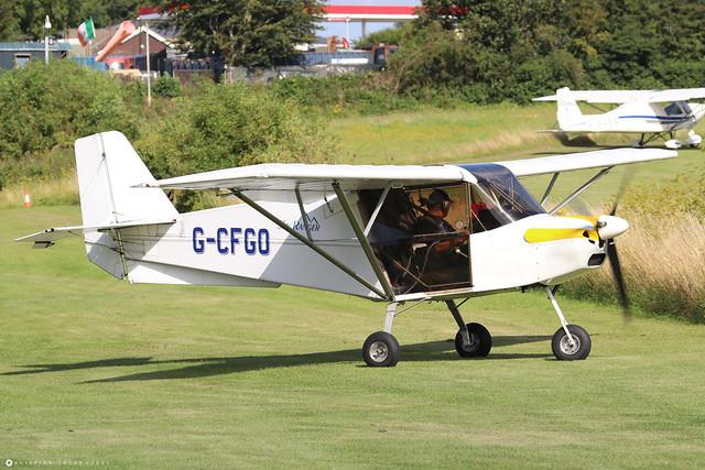G-CFGO  -  Best Off SkyRanger 912S(1) c/n BMAA/HB/574  -  EGHP 14/8/21