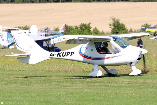 G-KUPP  -  Flight Design CT SW c/n 06-08-21  -  EGHP 14/8/21