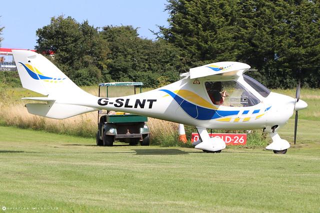 G-SLNT  -  Flight Design CT SW c/n 06-10-02  -  EGHP 14/8/21