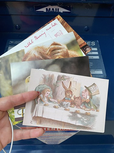 Postcards heading out