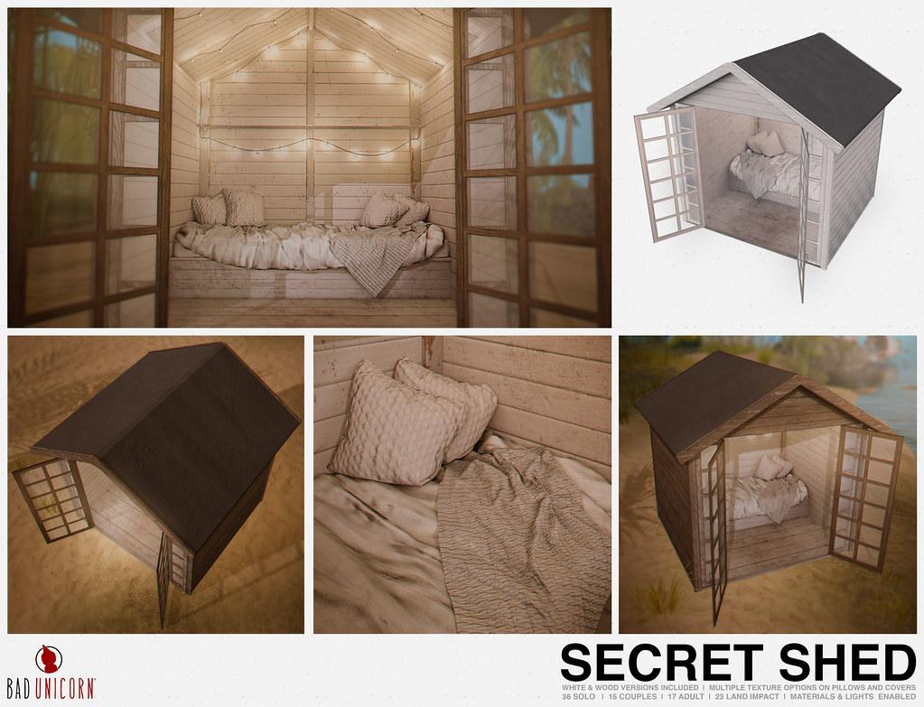 NEW! Secret Shed @ KUSTOM9