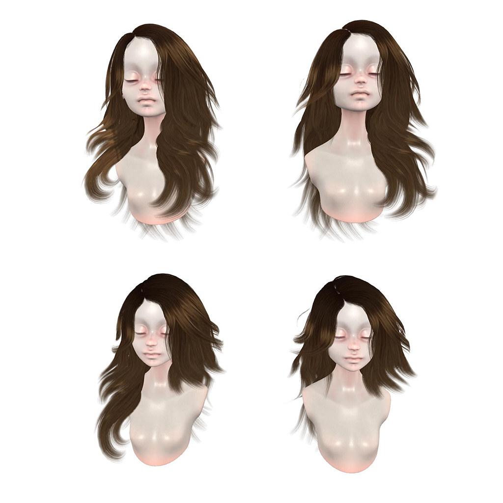 """New =DeLa*= Mesh Hair """"Lavonne"""""""