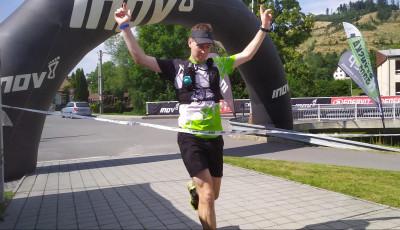 Hostýnskou osmu vyhrál Beníček. 105 km dlouhý závod ovládl Hének