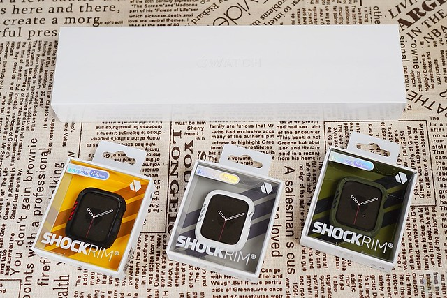 JTLEGEND Apple Watch ShockRim 防摔保護殼