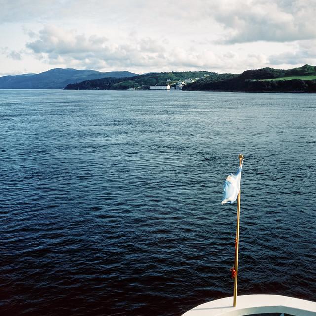 Approaching Port Askaig