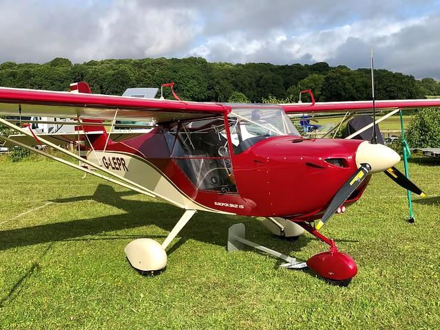G-LEPR  -  Aeropro EuroFox 3K c/n 56519  -  EGHP 15/8/21