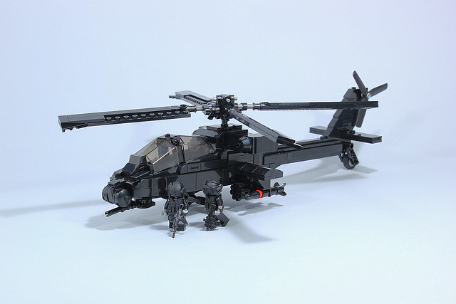 Helicopter Apache AH-64 Block VII - Ansui Version