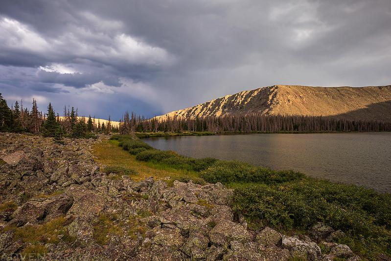 An Evening at the Powderhorn Lakes