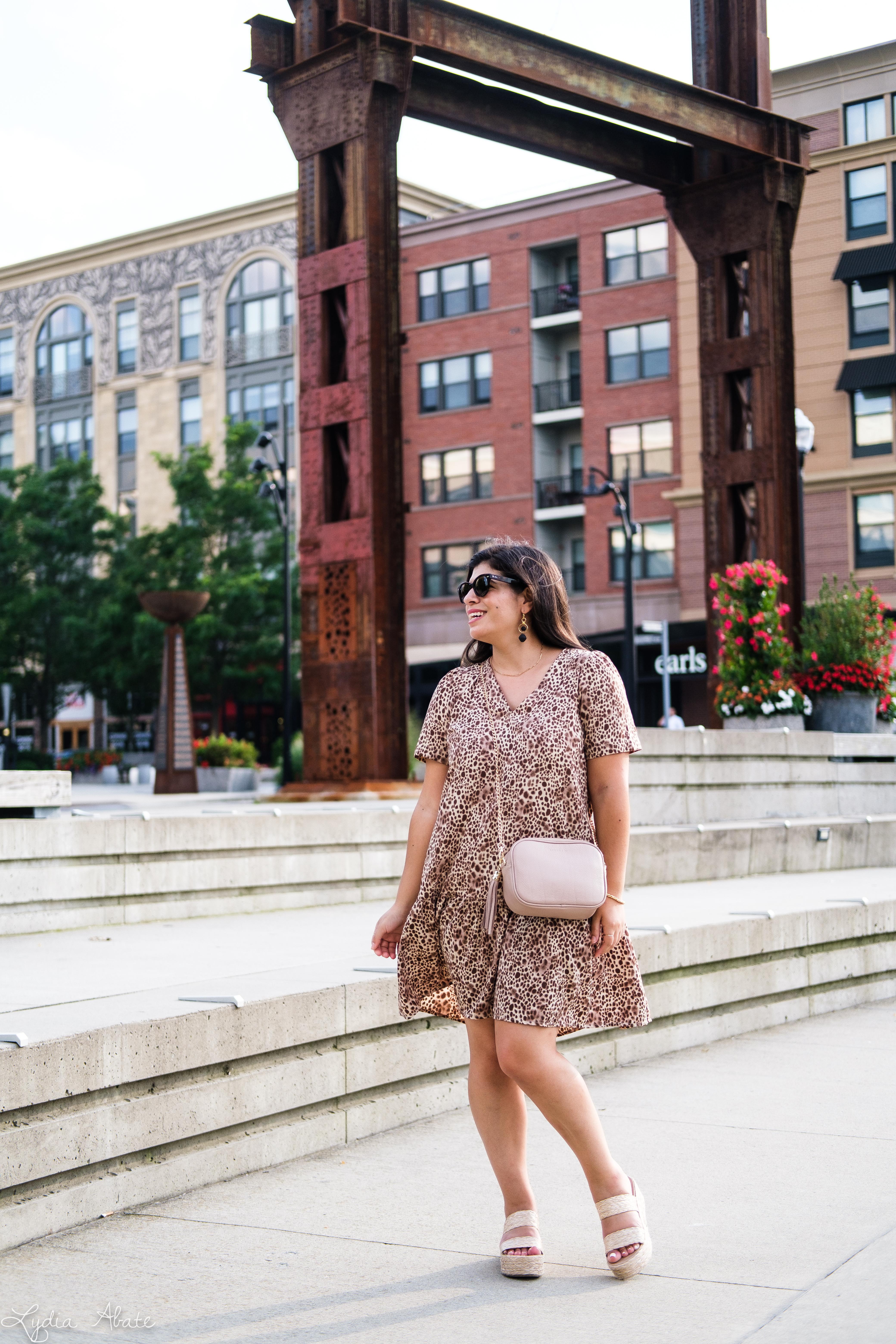 leopard swing dress, raffia wedges, luken and co camera bag-4.jpg